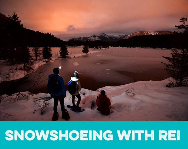 Snowshoeingtext